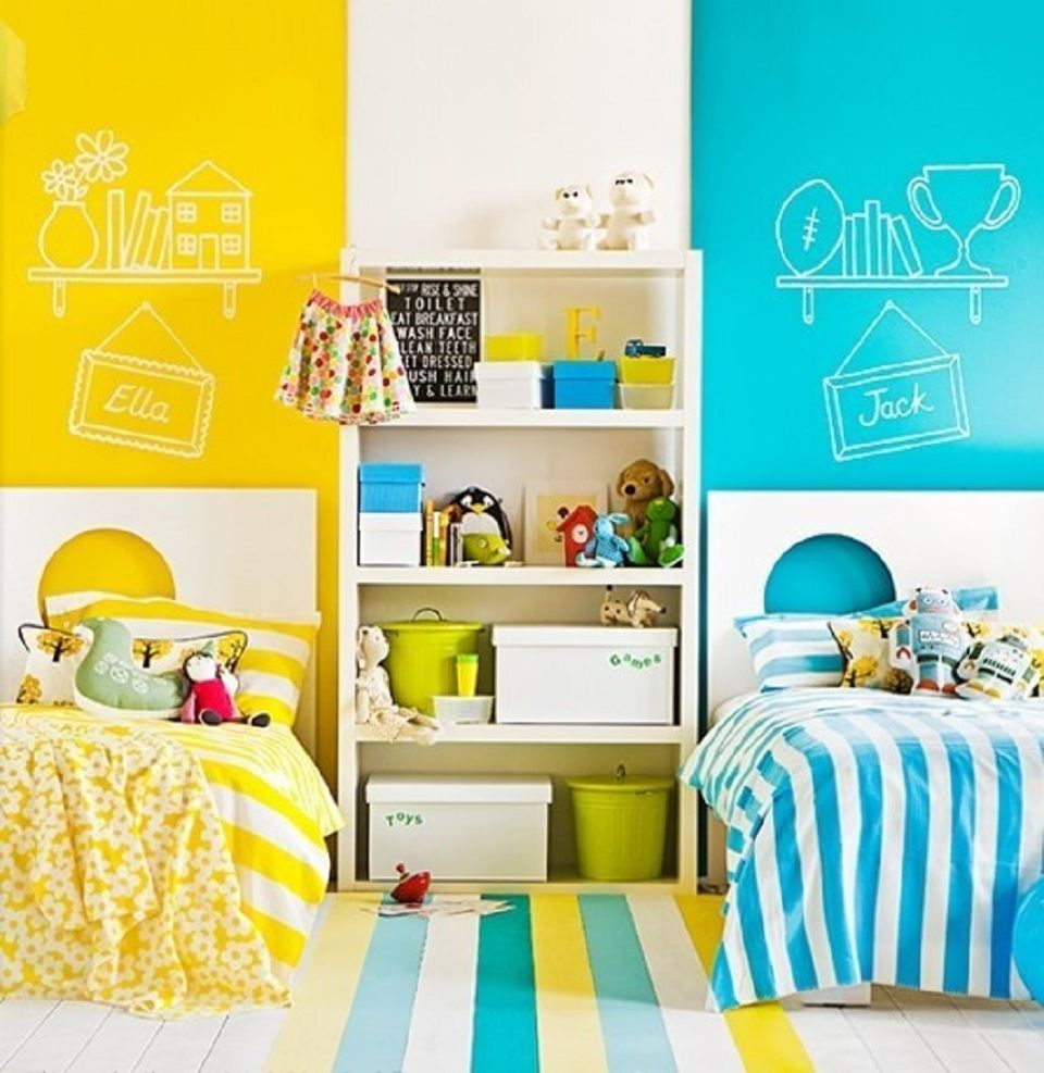 Great Ideas for Shared Kids\' Bedrooms