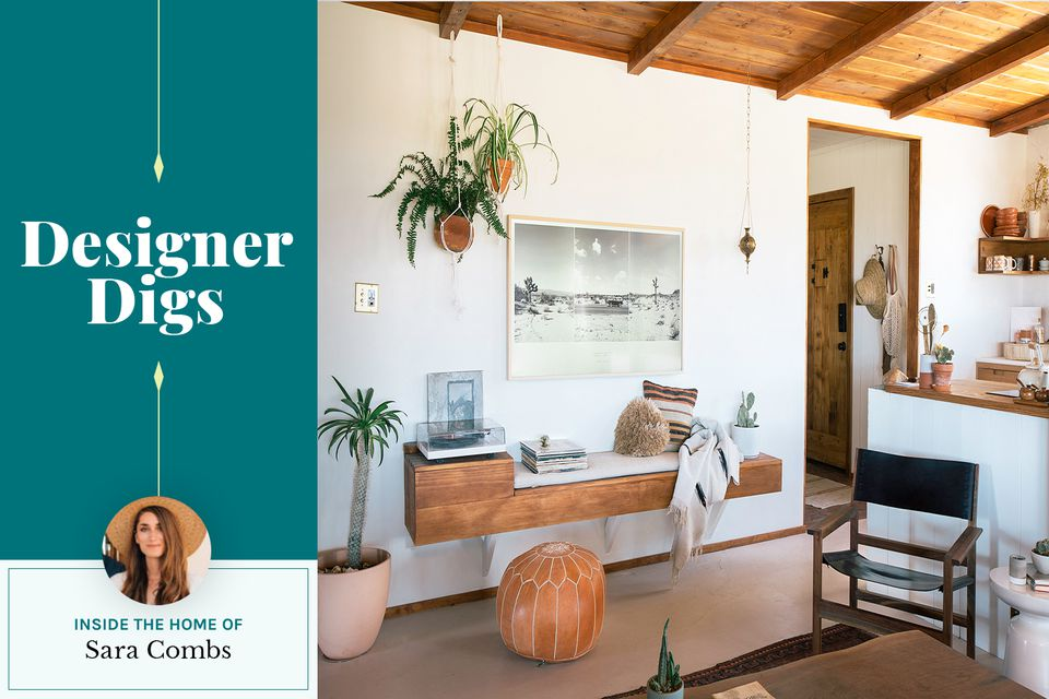 Sara Combs for Designer Digs at The Joshua Tree House