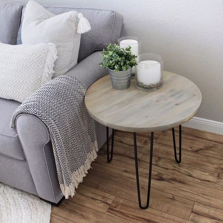 16 Diy End Table Plans - End Table With Drawer And Shelf Plans