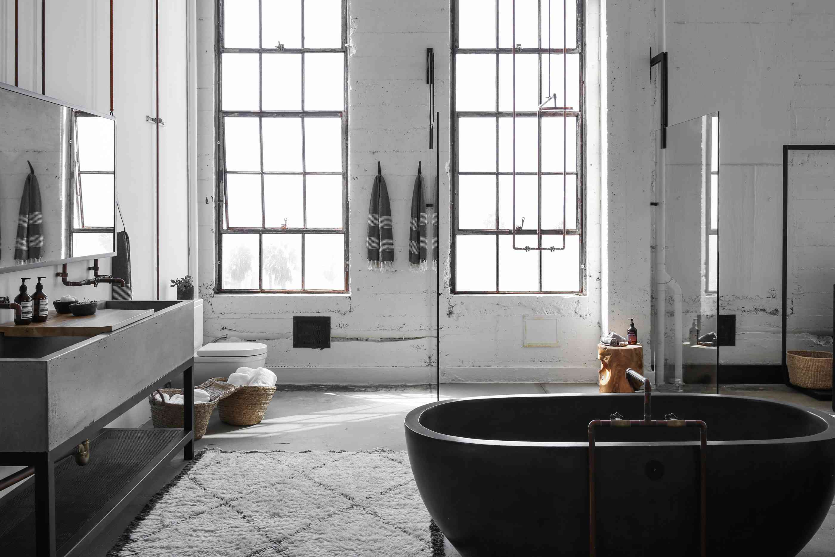 Industrial Bathroom Ideas That Are Ultra Chic