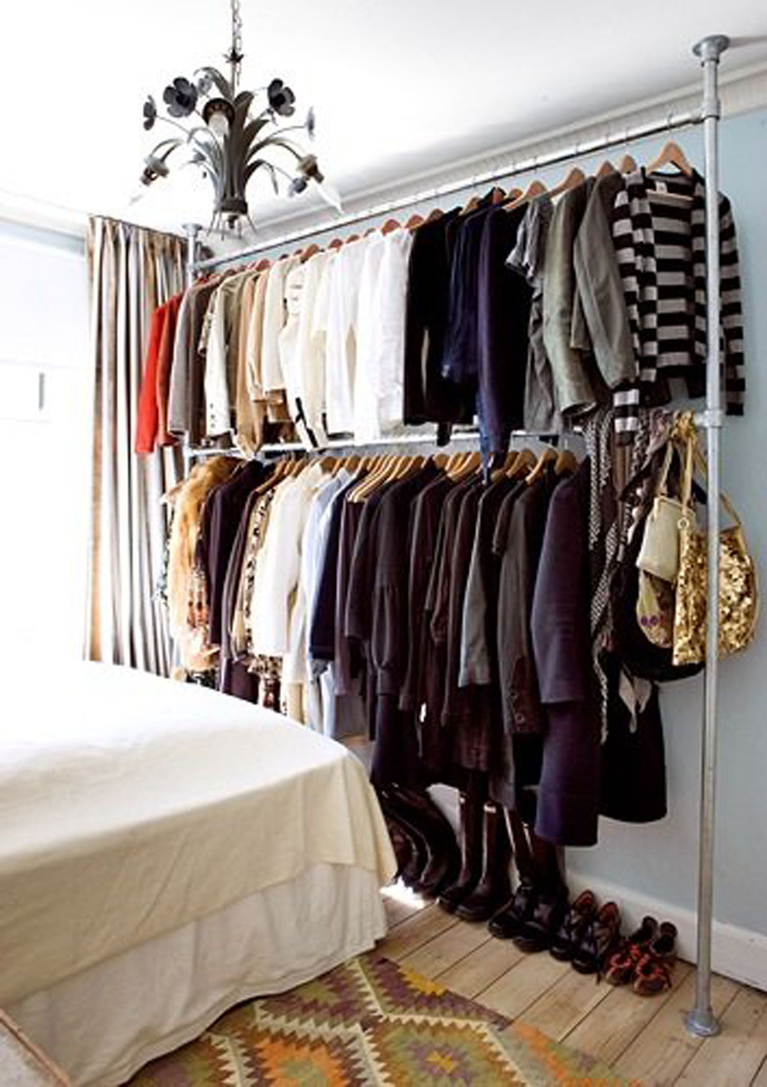 closet room modern store clothes without closet
