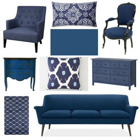 Home Decorating With Indigo Blue