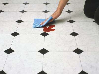 Instructions For Cleaning Linoleum Flooring - Linoleum floor stain removal