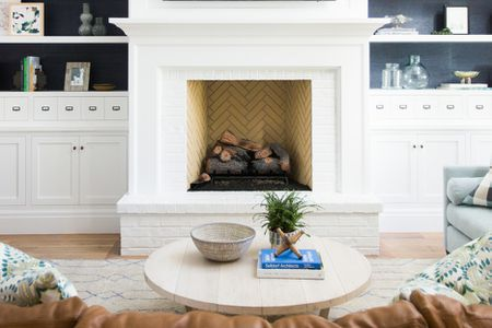 Outstanding 32 Ways To Refresh A Brick Fireplace Download Free Architecture Designs Terstmadebymaigaardcom