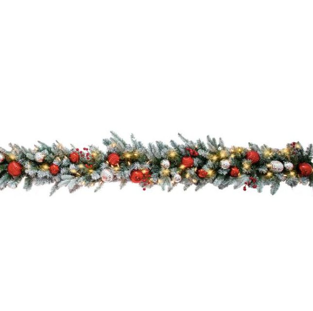 frosted-garland