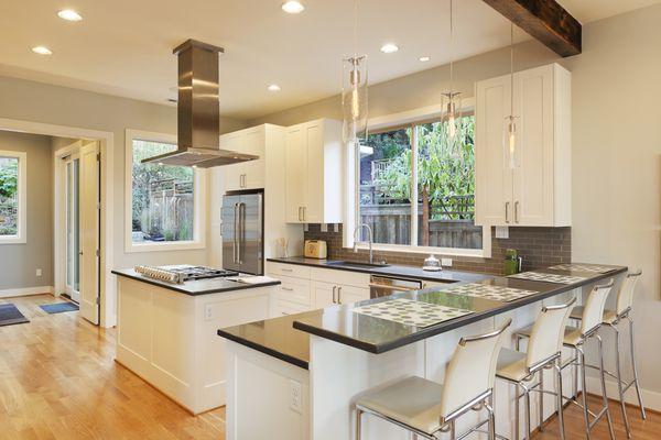 Beautiful updated kitchen.