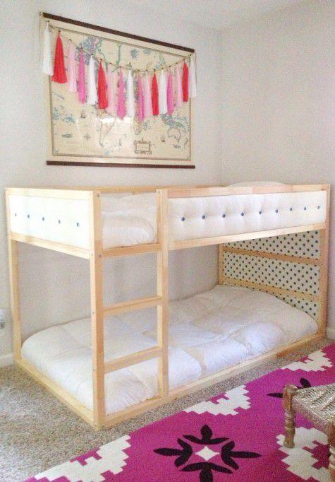 IKEA KURA Hack: Upholstered Upgrade