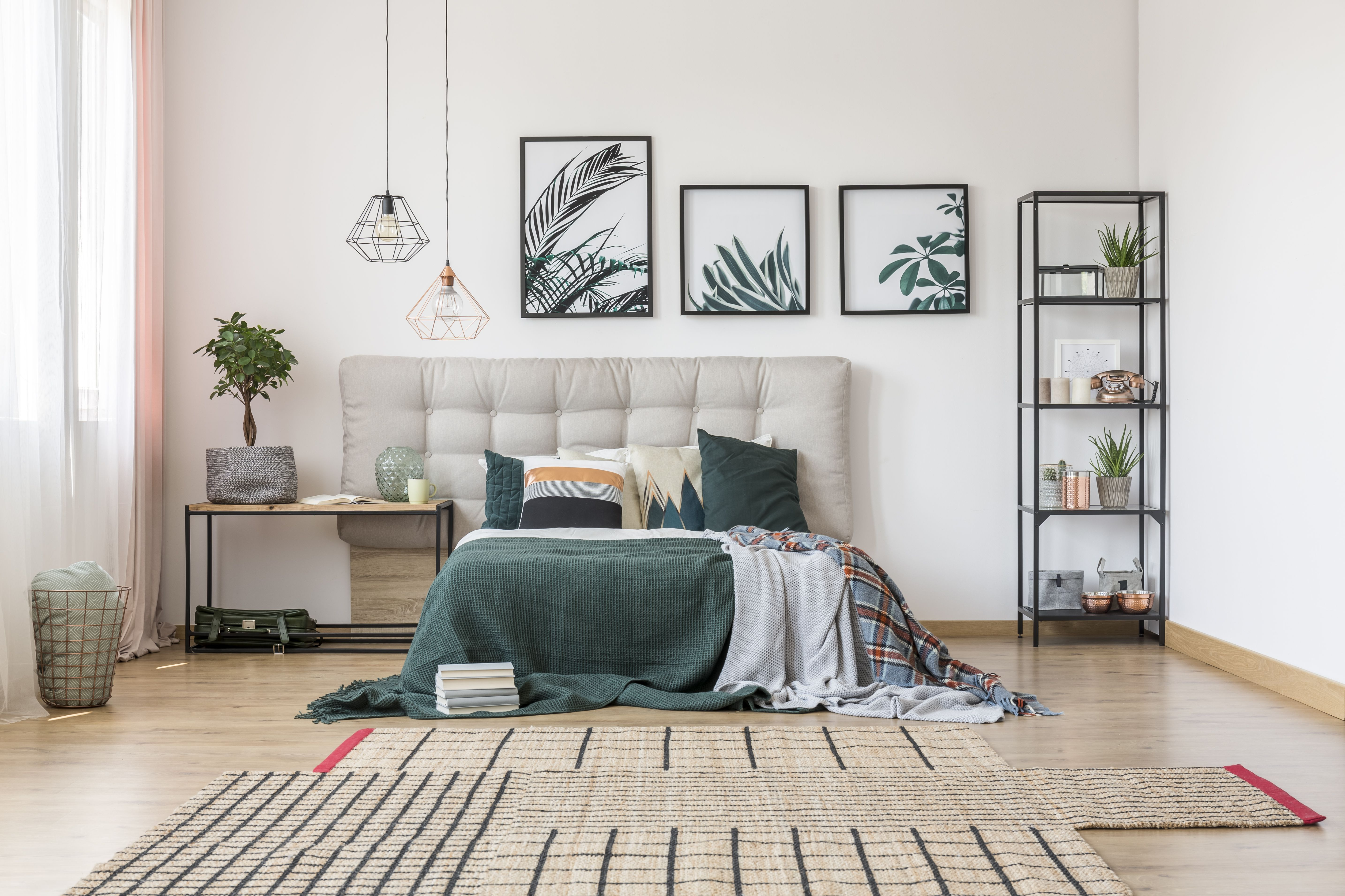 woodland theme decor ideas get the look at home.htm decorating the bedroom with plants or a botanical theme  bedroom with plants or a botanical theme