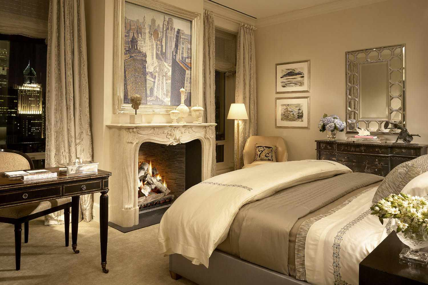 What is the romantic decorating style