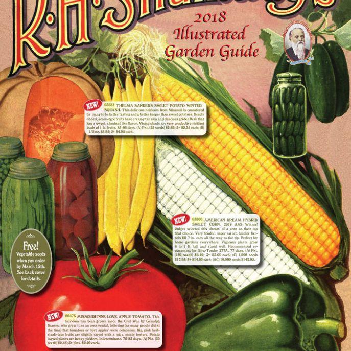 El Catálogo de semillas de RH Shumway 2018