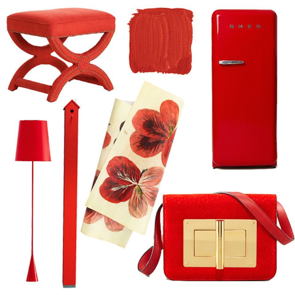 feng shui use of color red