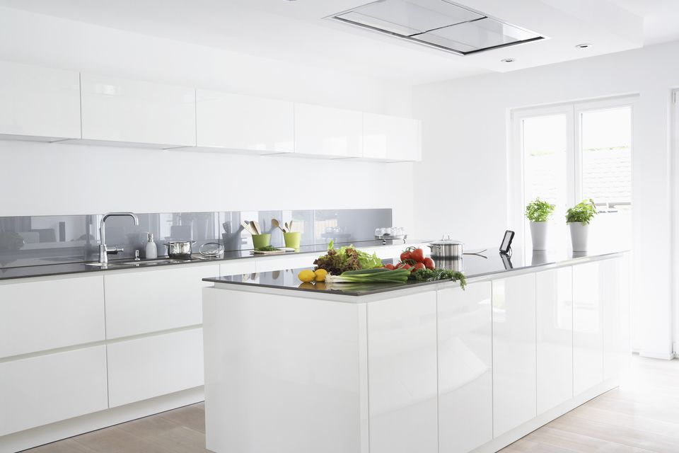 white color kitchen