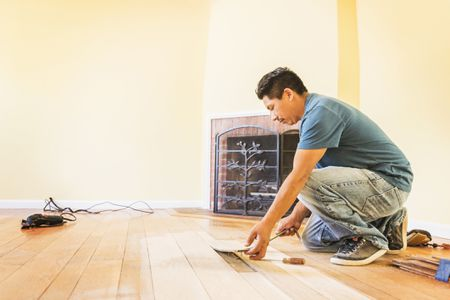 Solid Hardwood Flooring Costs For Professional Vs DIY - Cost of replacing tile floor with hardwood