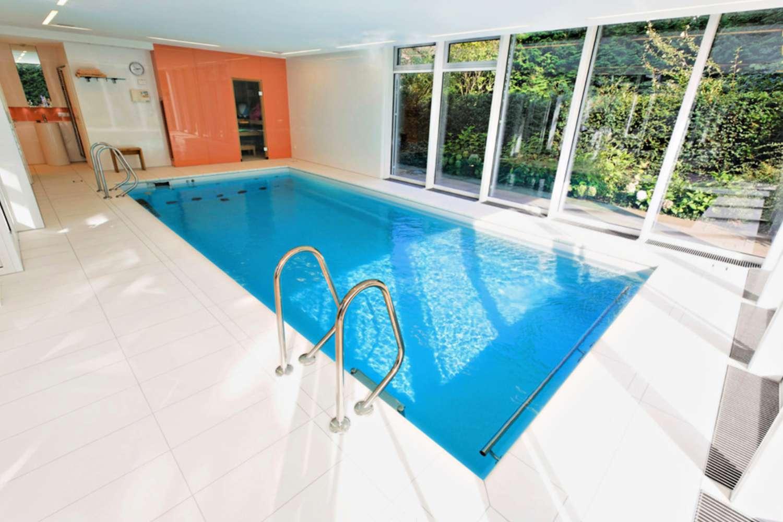 Bright German Indoor Pool