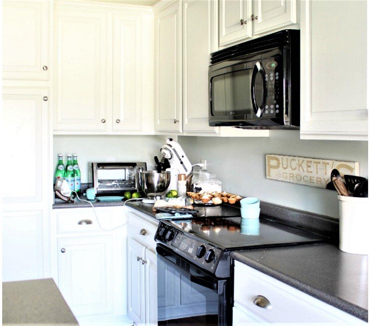 Pintura de gabinetes de cocina , No se necesita equipo