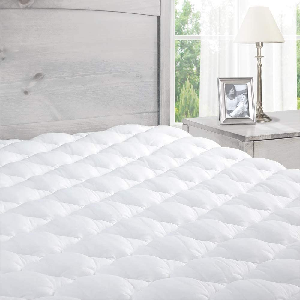 ExceptionalSheets Extra Plush Fitted Mattress Pad