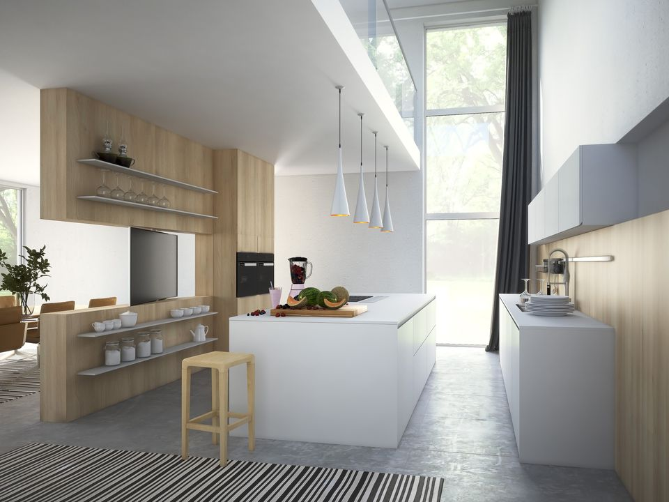 IKEA Style Kitchen Cabinets
