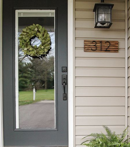 Diy Outdoor Decor Projects House Numbers