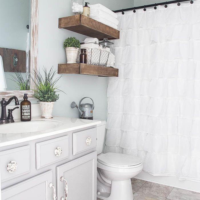 15 Modern Farmhouse Bathrooms
