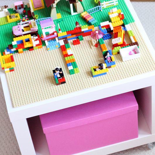 Mini Lego Play Table Ikea