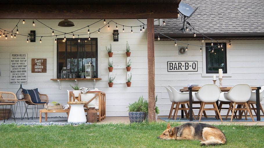 Farmhouse Style Outdoors, Farmhouse Patio Furniture