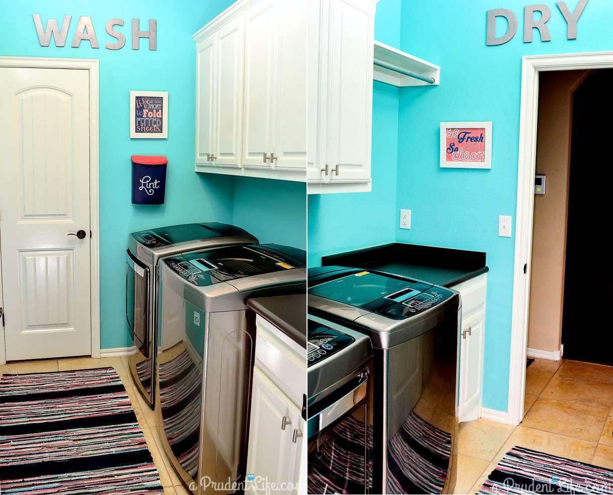 Laundry Room Redo For $89