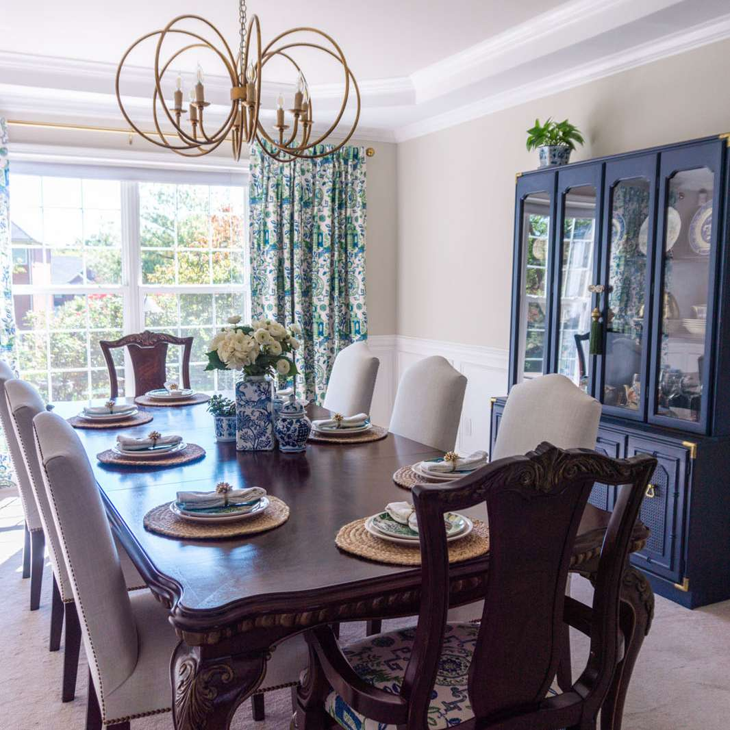 chinoiserie dining room