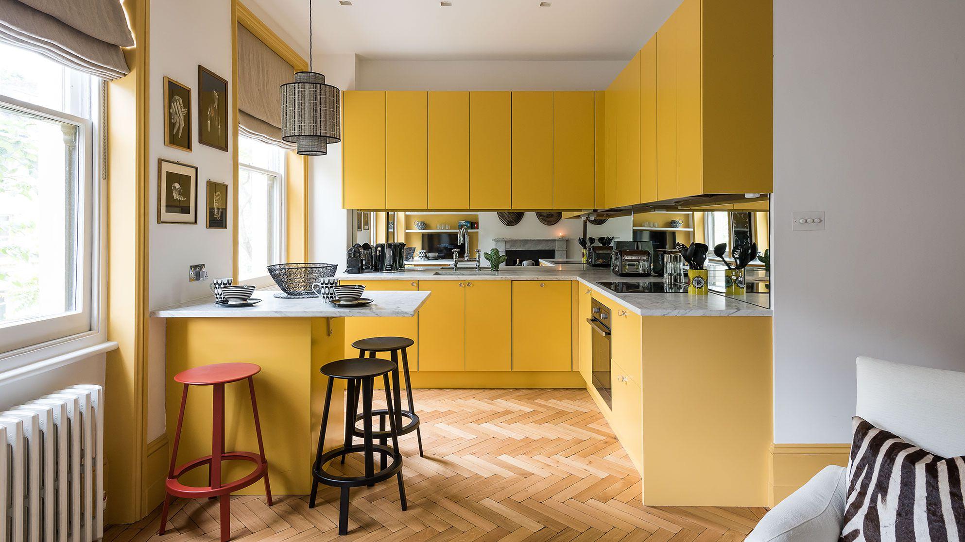 9 Beautiful Yellow Kitchen Ideas