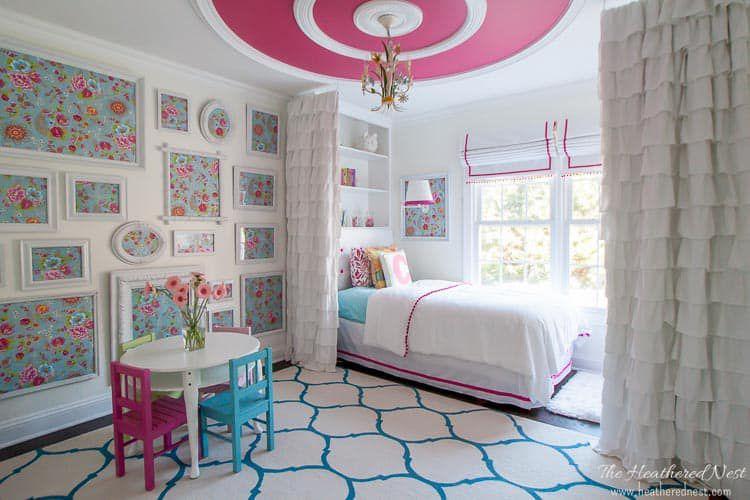 Heather Thibodeau pink room