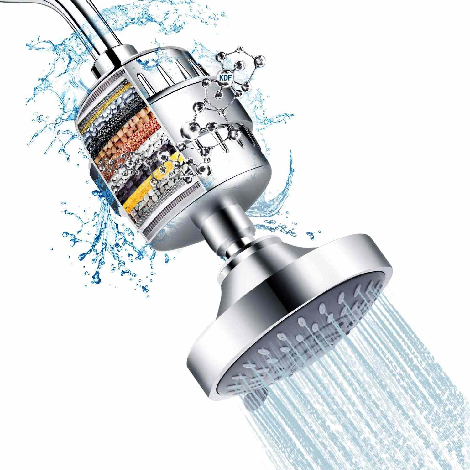 Feelso High-Pressure Filtered Shower Head