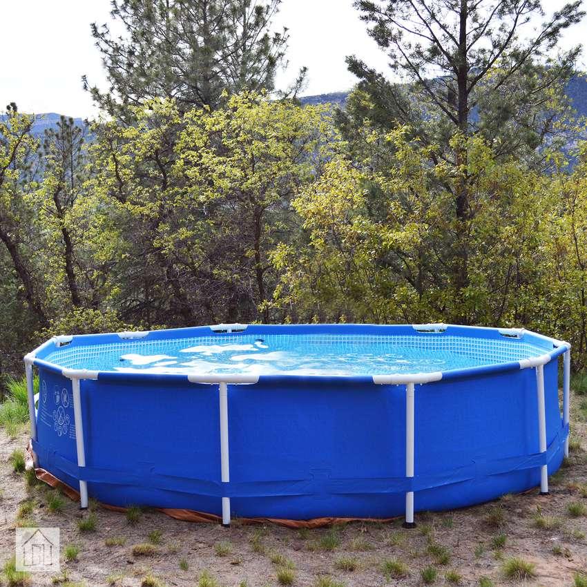 Intex 12ft x 30in Metal Frame Pool Set