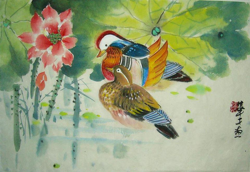 feng shui mandarin ducks