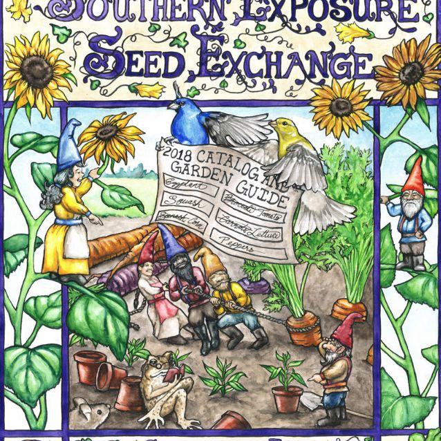 El catálogo de semillas de Southern Exposure