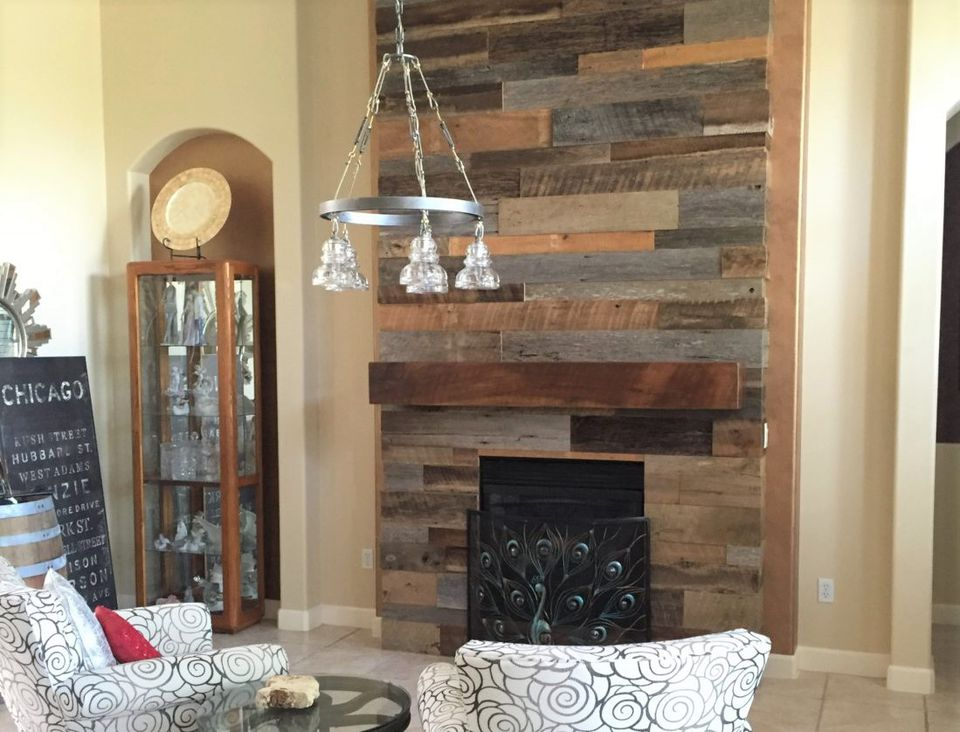 Wood Stove Surround Cabin