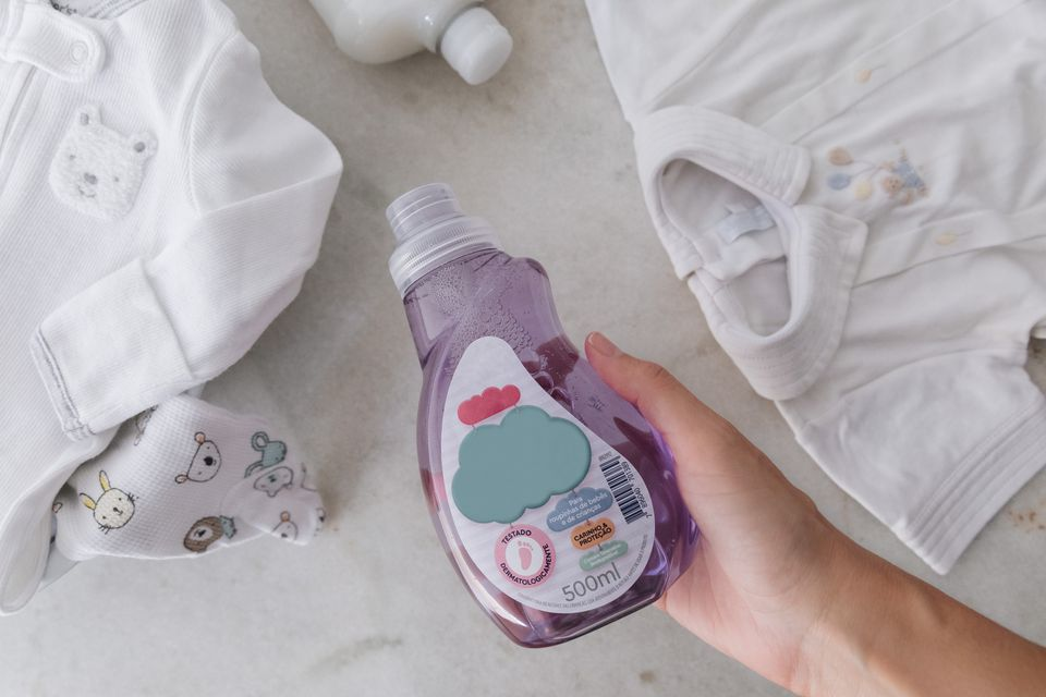 baby clothing detergent
