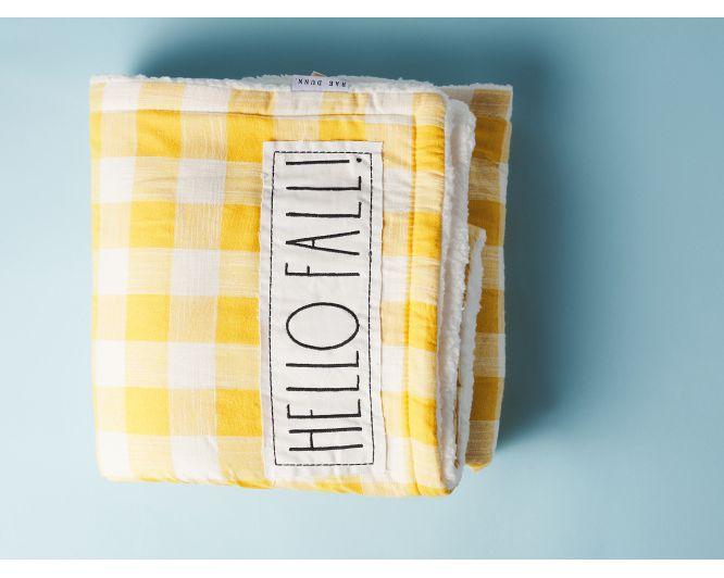 Hello Fall Blanket