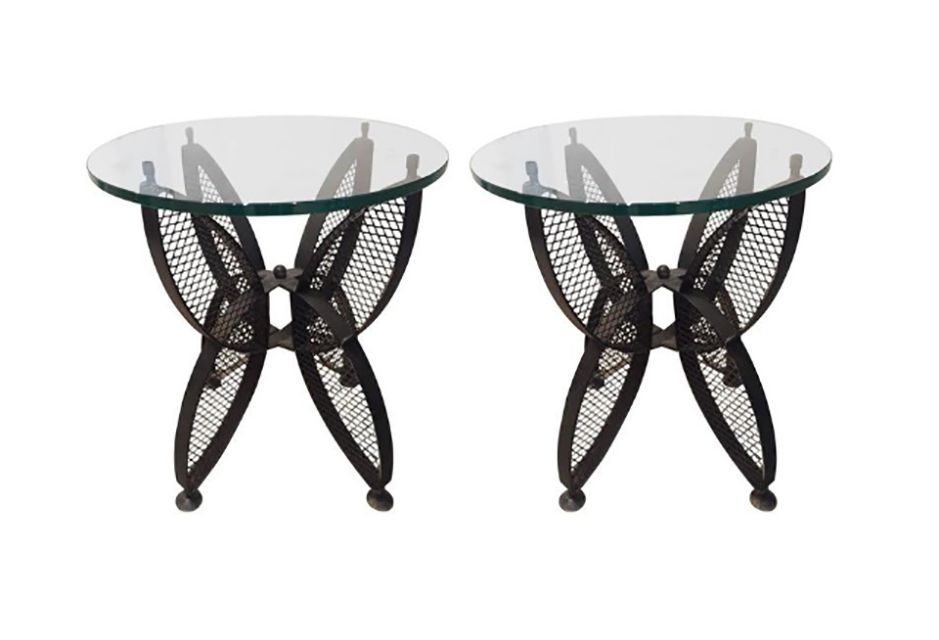 Pair of Mid-Century Maurizio Tempestrini for Salterini Side Tables