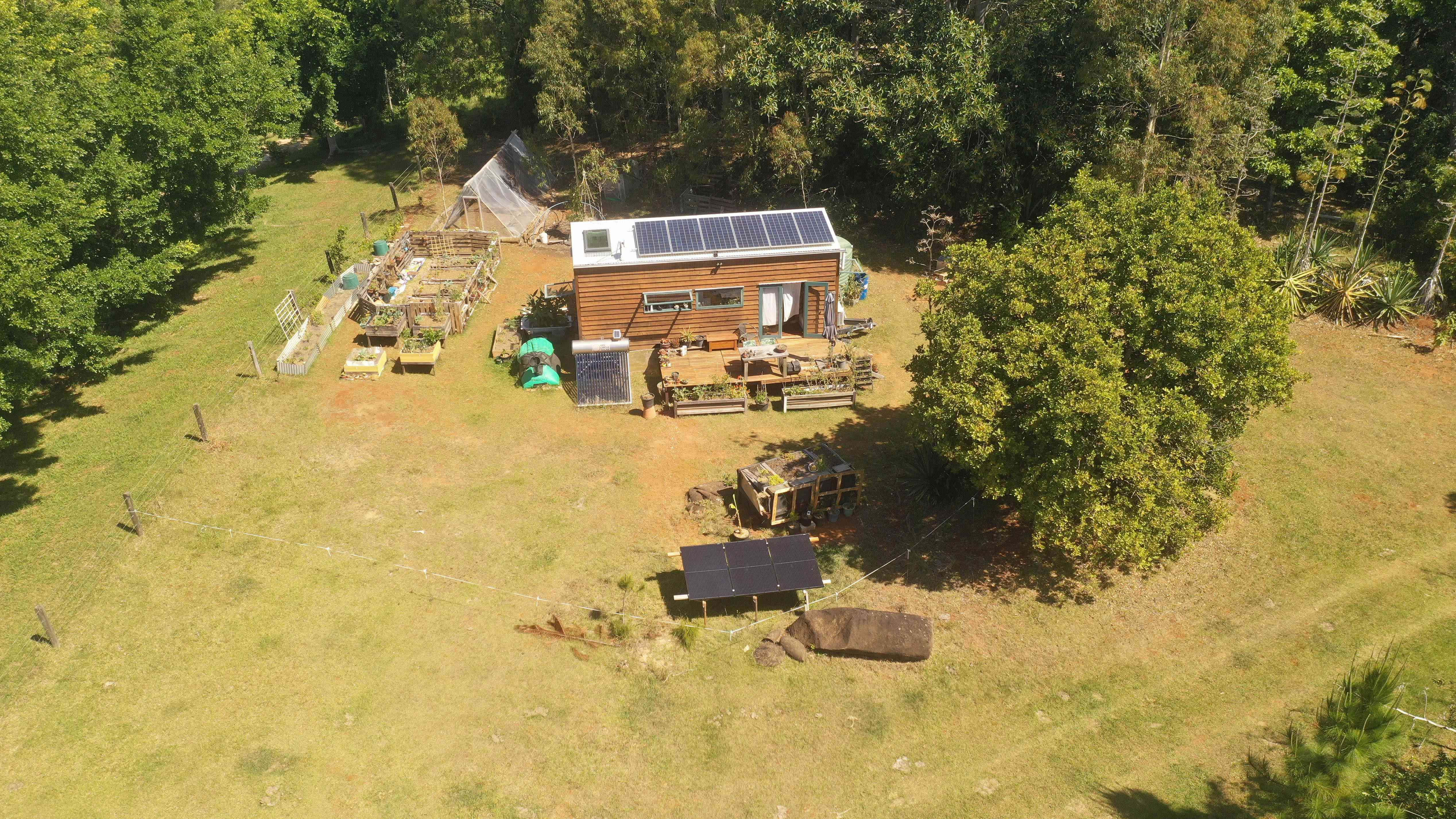 Tiny home off grid