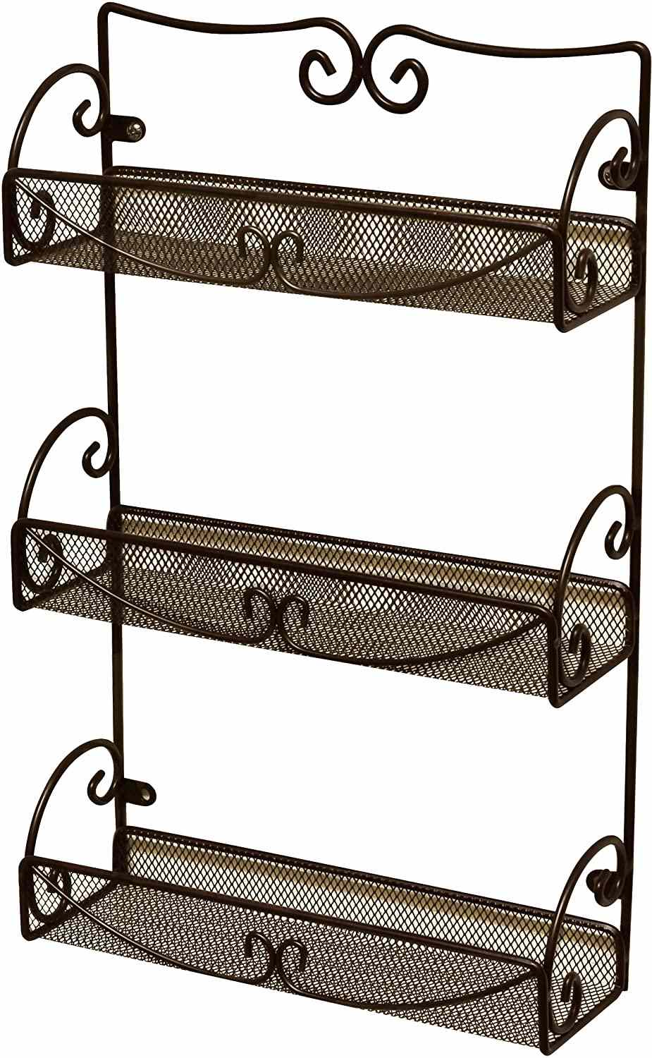 Deco Brothers 3-Tier Wall Mounted Spice Rack