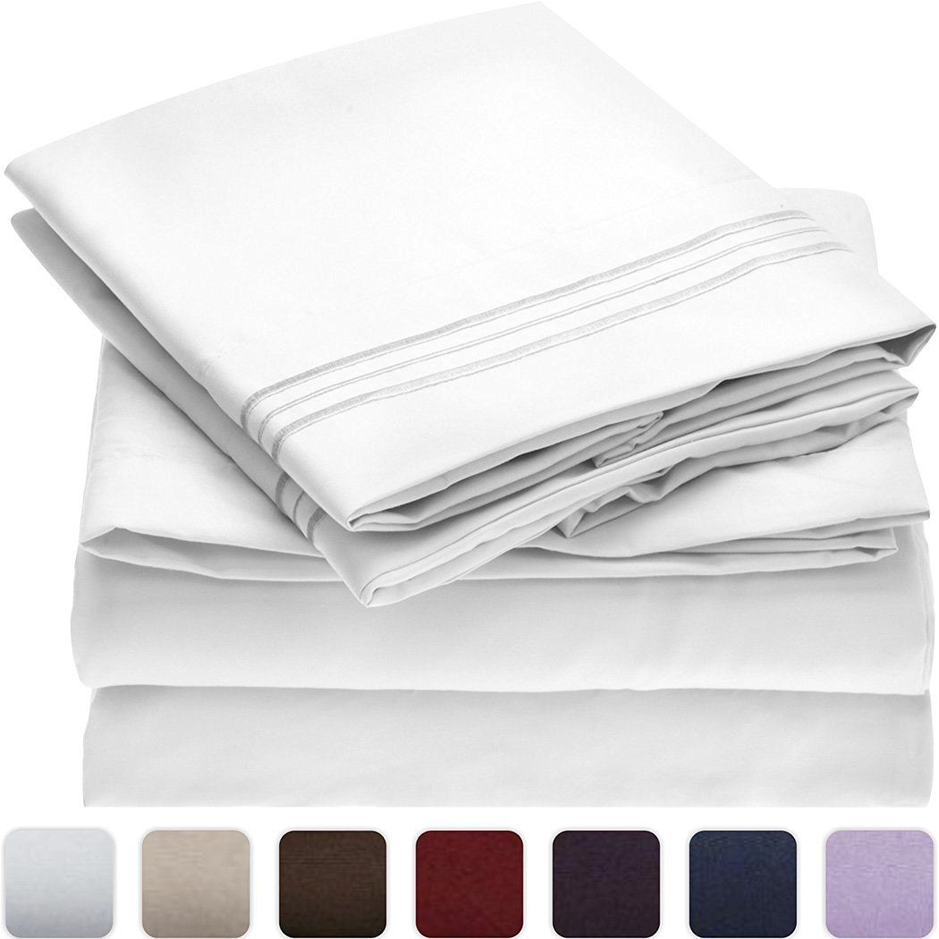 Best Overall Sheets Mellanni Bed Sheet Set