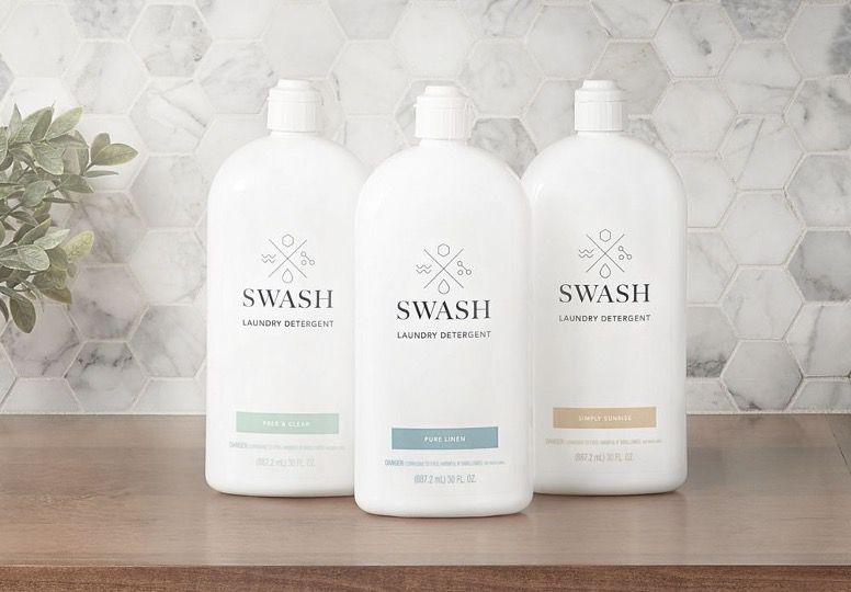 Swash detergent trio