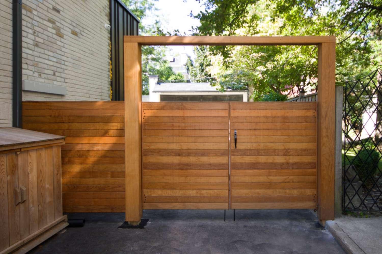 ideas de puerta de jardín
