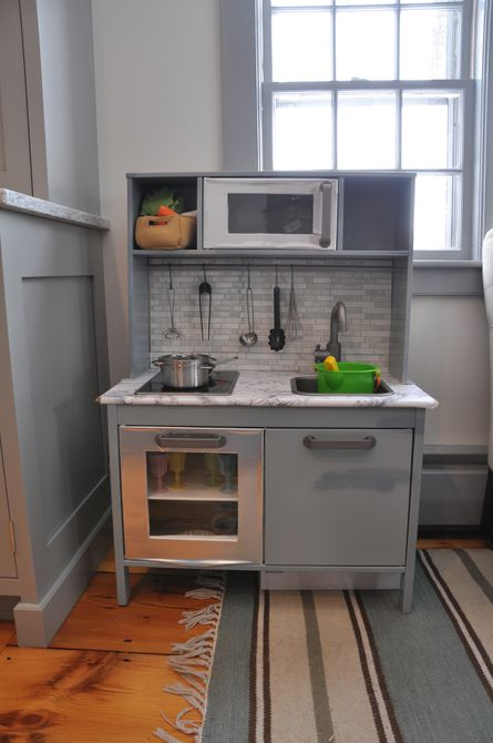Mini cocina de juego a juego
