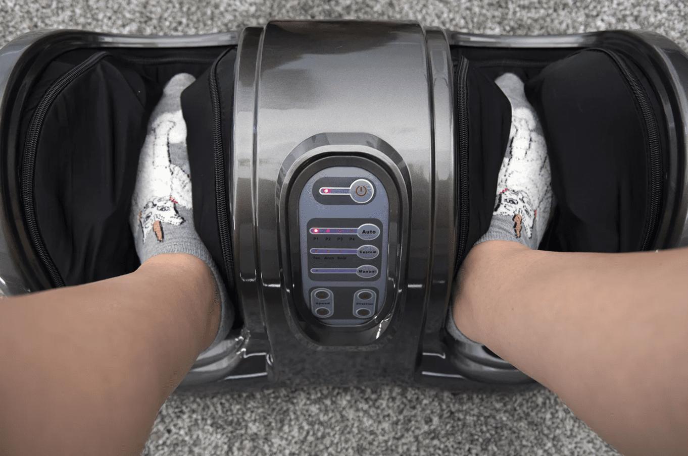 Best Choice Products Therapeutic Shiatsu Foot Massager