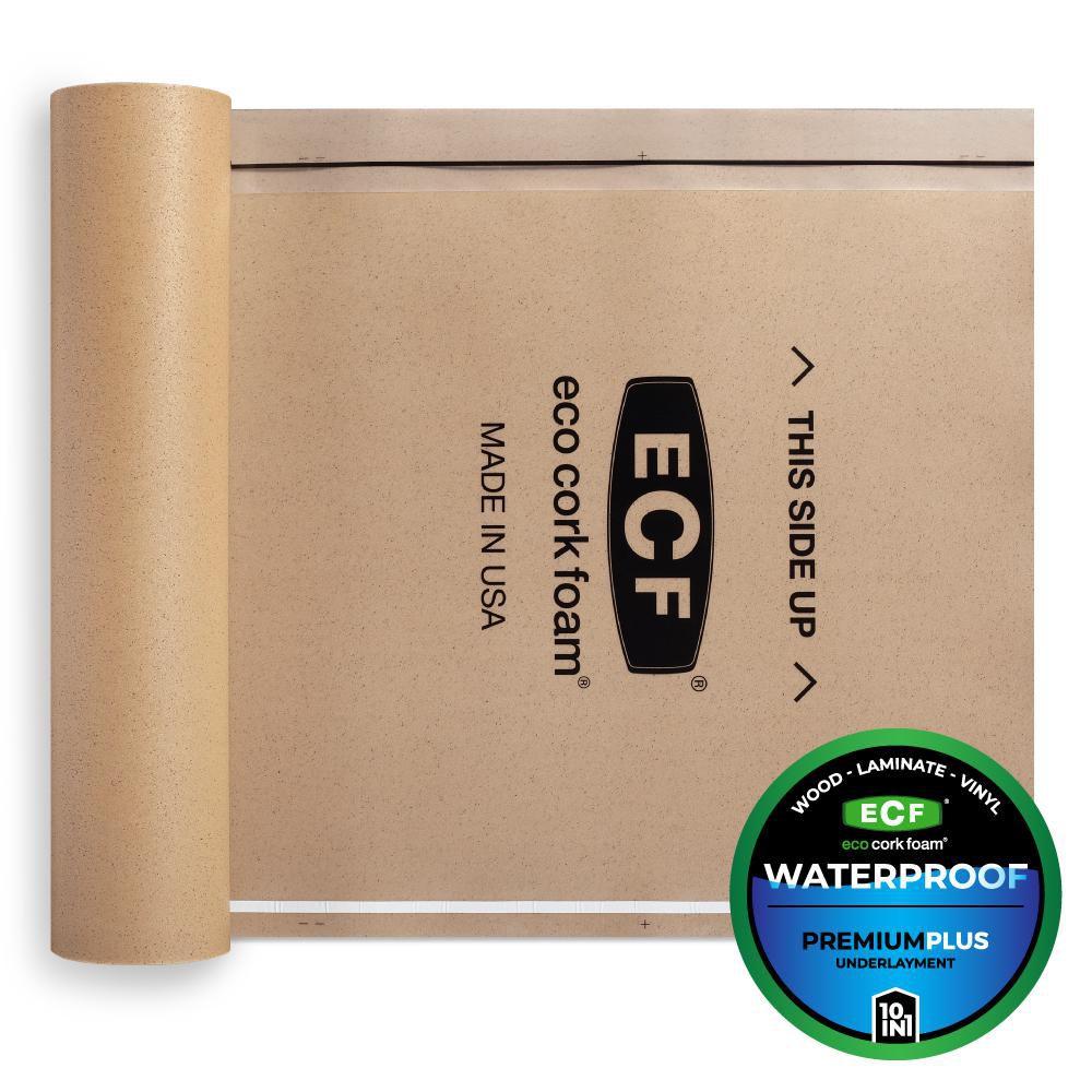 Eco Cork Foam Underlayment