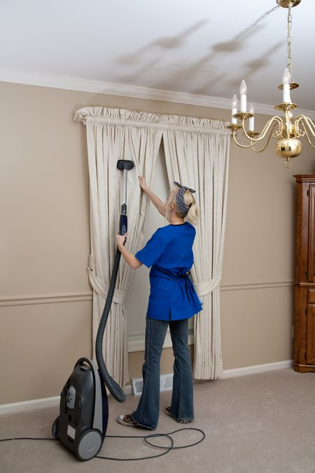 Can i clean my own drapes or must they dry cleaned vacuming curtains fullvalueegetty images solutioingenieria Image collections