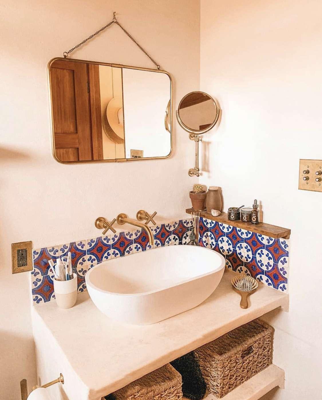 Bathroom at The Joshua Tree House