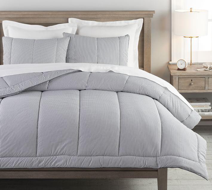 Wheaton Stripe Percale Comforter