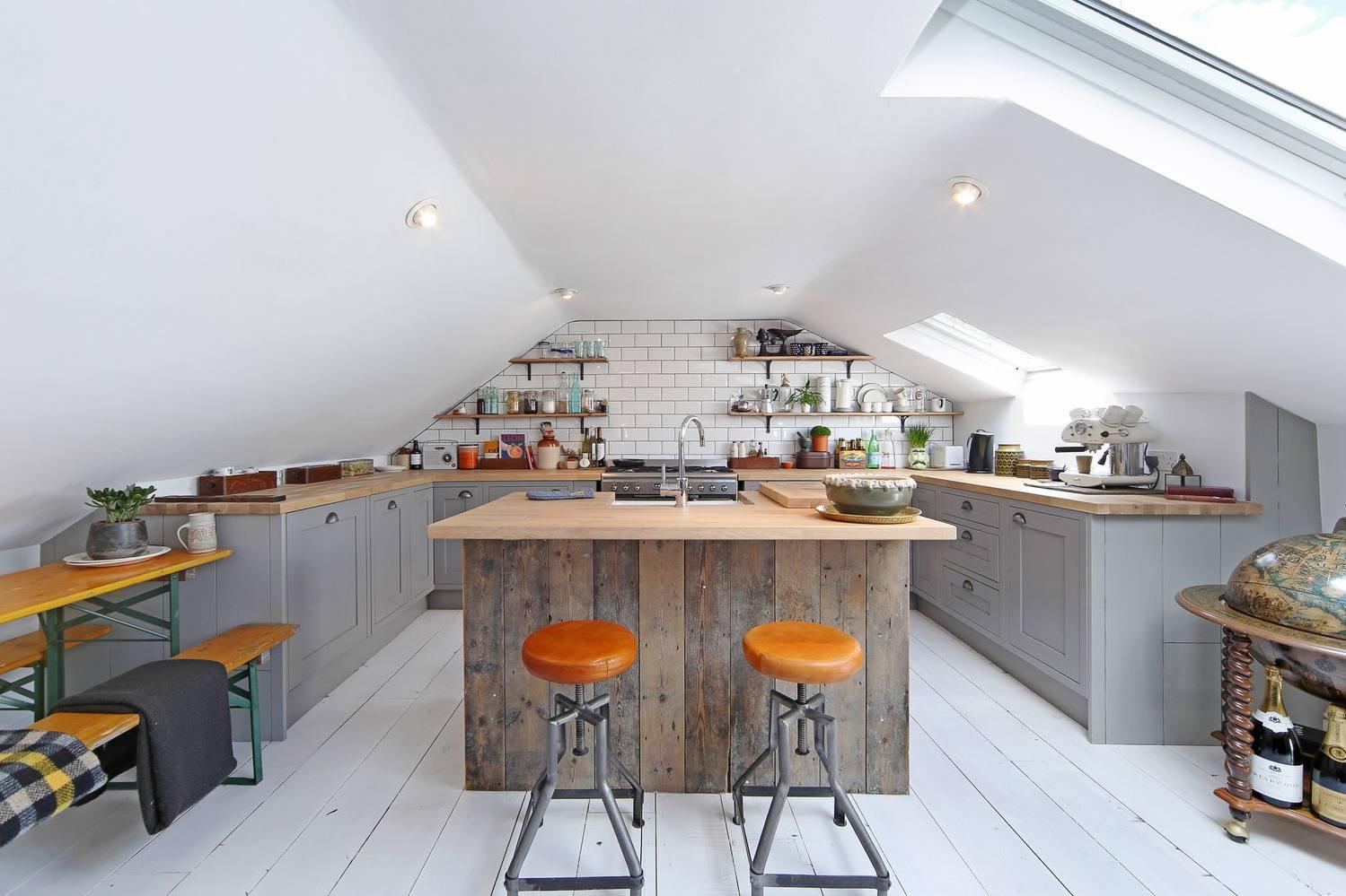 Modern-Farmhouse-kitchen-Loft