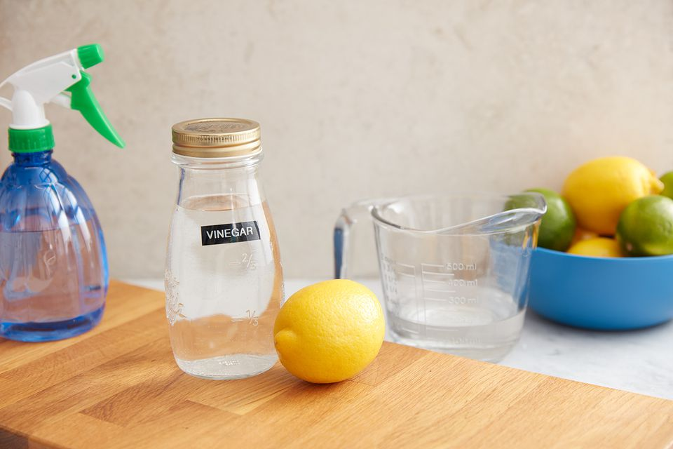 ingredients to make citrus spray cleaner